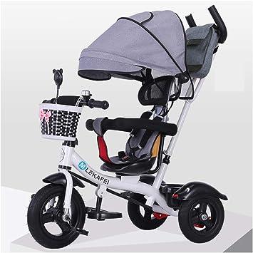 YINGH - Triciclo para niños 1-3-5 años de edad, bicicleta grande ...