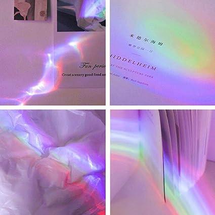 TEEPAO Rainbow Proyector de luz Nocturna con Forma de Concha ...