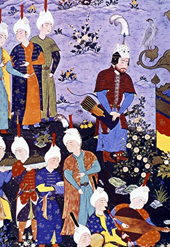 Rustam 16Th Century Nthe Hero Rustam Finds Kay Qubad Detail From A 16Th Century Persian Illumination For FirdawskiS Shah-Nameh Poster Print by (24 x 36) Art Com Persian Print