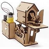 Amazon com: Cuckoo Clock: Wood Craft Assembly Wooden Construction