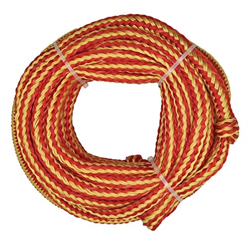 Bungee Tube Tow Rope, 60ft Orange by Jranter