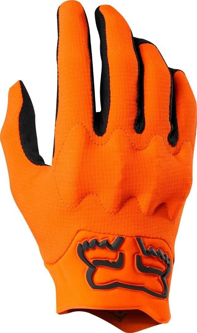 Fox Gloves Bomber Lt Black Orange L Auto