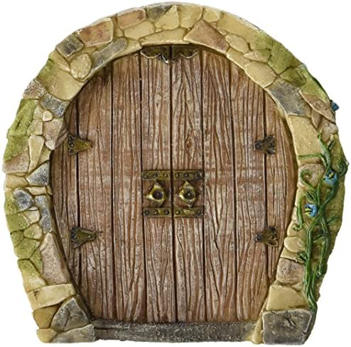 Top Collection Miniature Fairy Garden Enchanted Gnome Home Door