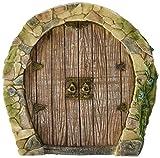 Top Collection Miniature Fairy Garden Enchanted Gnome Home Door