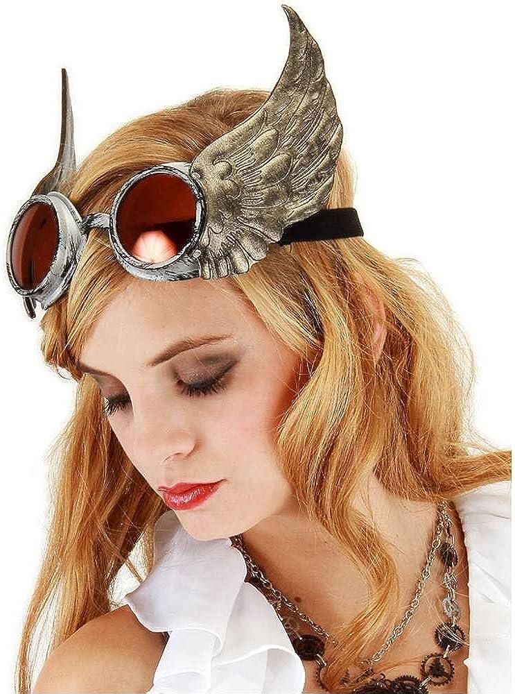 Winged Goggles Costume Accessory