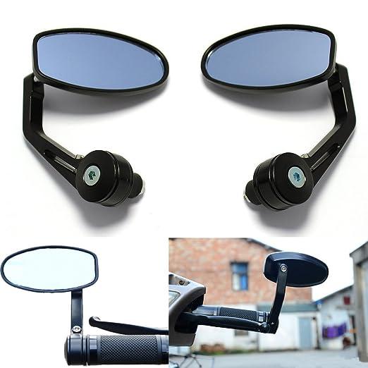 """34 opinioni per ViZe 7/8"""" 22mm Specchietti Moto Retrovisori Specchio Posteriore Universale Per"""
