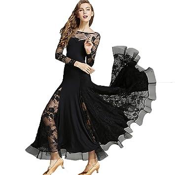 Selbst-Anbau Gesellschafts Standard Tanz Kleider für Frauen Schnüren ...