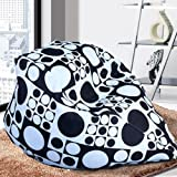 Bean Bags Chairs, Bean Bags Bulk Unisex New BeanBag Indoor Bean Bag Sofa Lounge Chair, Bean Bags For Kids (Black White)