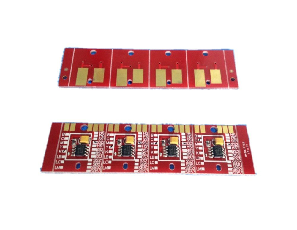 BS3 Permanent chip for Eco solvent plotter Mimaki JV5 JV33 CJV30 printer; 4pcs/set BK C M Y