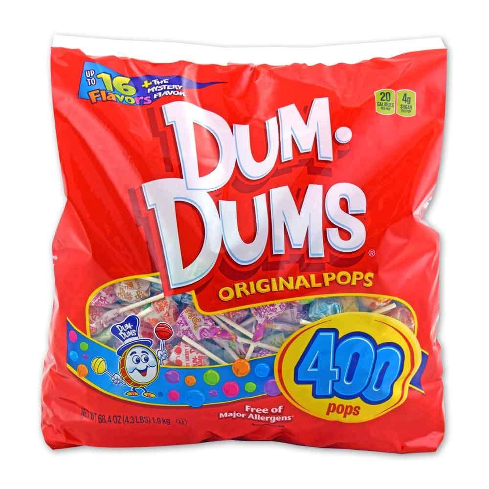 Dum Dums 400 count gusset bag by Dum Dums