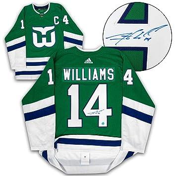 Justin Williams (Tampa Bay Rays) Autographed Jersey - Carolina ... 0b3a902f4