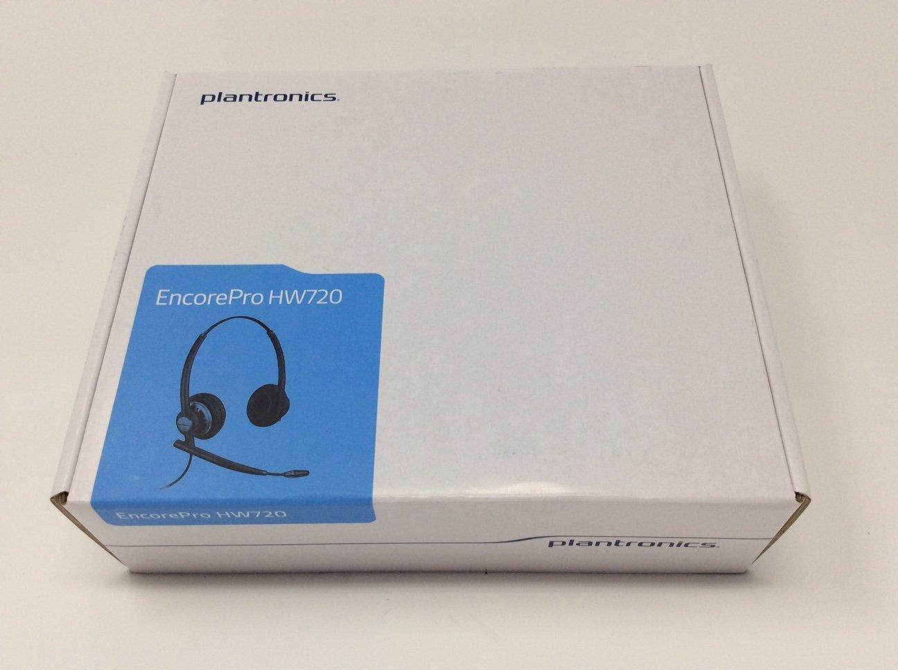 Amazon.com: Plantronics EncorePro HW720 Customer Service Headset (Certified  Refurbished): Electronics