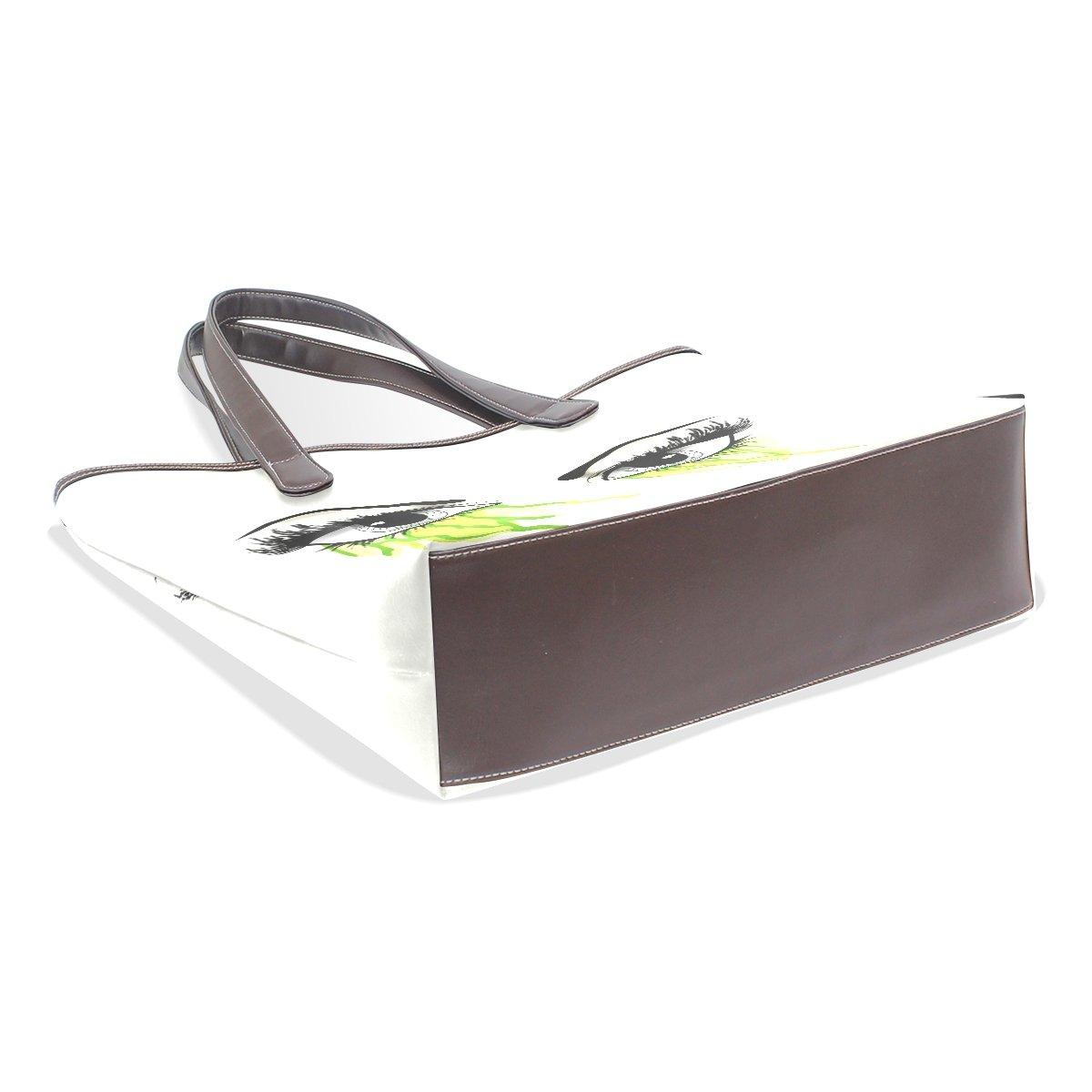 Mr.Weng Household Bloody Green Large Lady Handbag Tote Bag Zipper Shoulder Bag