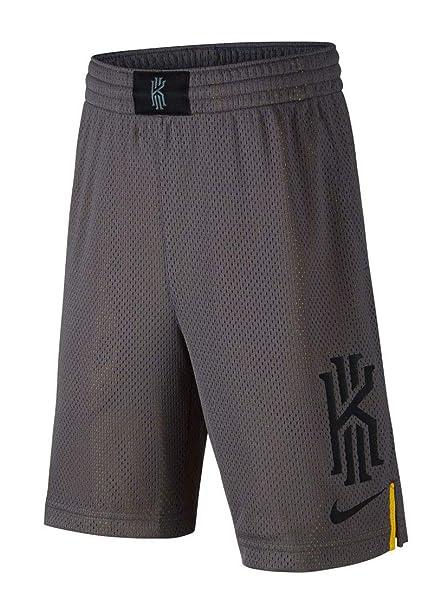 2dbed9ff27e42 Nike Big Dry Kyrie Graphic Mesh Athletic Basketball Shorts (Grey ...