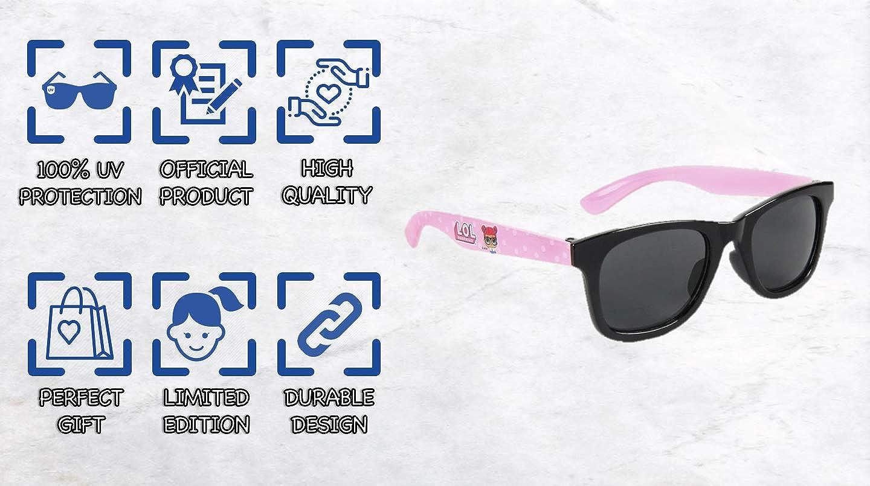 Occhiali da Sole Carino Adorabili per Ragazze! Il Regalo Perfetto! Contiene la Loro Bambola Preferita Occhiali Protettivi UV 100/% per Ragazze Ultimo Accessorio Estivo!  