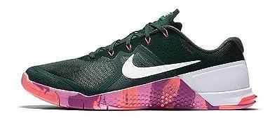 a38eccd4fde Nike Metcon 2 Amp Amplify Mens Running Training Shoes Pine Green White  Crismson (13)