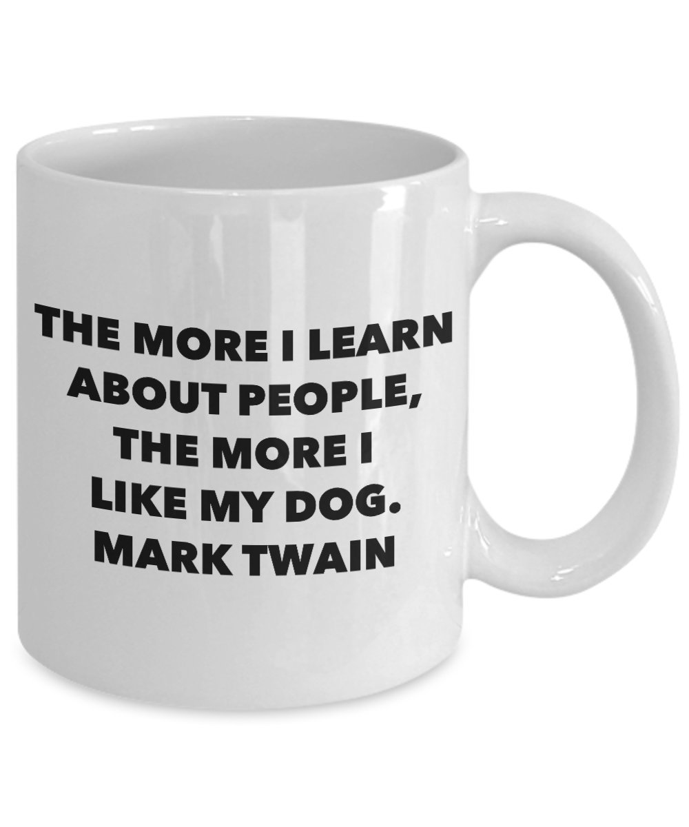 Amazoncom Mark Twain The More I Like My Dog Kitchen Dining
