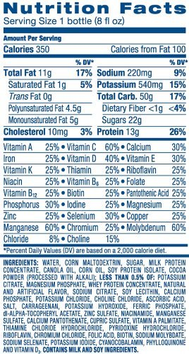 Ensure Plus Nutrition Shake, Strawberry, 8-Ounce Bottle (Pack of 48) by Ensure (Image #7)