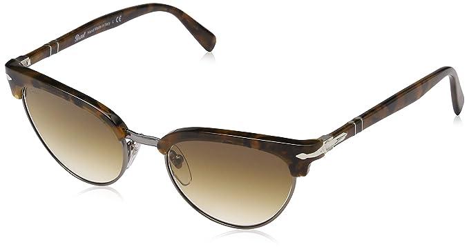 Persol 0PO3198S Gafas de sol, Ojos de gato, 50, Dark ...
