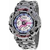 Casio Ladies Baby-G Flower Leopard Analog-Digital Casual Quartz Watch (Imported) BA-110FL-8A
