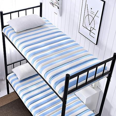 Tatami colchón Individual - Plegable futón Abajo del colchón - la Tela de algodón de Costura Profesional de 5 cm de Espesor - Estudiante compartida Mat colchones Blandos,H,90x200cm(35x79inch): Amazon.es: Hogar