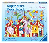 Ravensburger Day At The Circus - 24 Pieces Super Sized Floor Puzzle