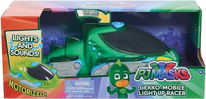 PJ Masks Light Up Racers Car - Gekkos Gekko Mobile : Amazon ...