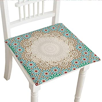 Amazoncom Classic Decorative Chair Pad Seat 28x28x2pcs - Decorative-floral-print-chairs-from-floral-art