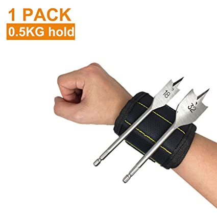 Magnetic Wristbands, Pyhot Handsfree Wrist Band Strap Holder Carry