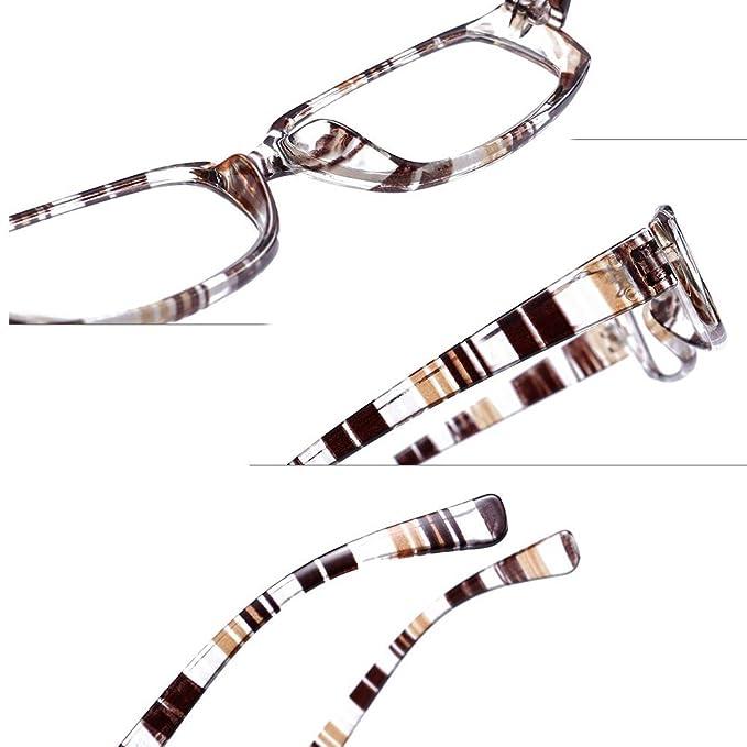 a77d5cab447874 Inlefen Verres rectangulaires Lunettes de lecture unisexes Presbytie +1.0  +1.5 +2.0 +2.5 +3.0 +3.5 +4.0 Dioptrie  Amazon.fr  Vêtements et accessoires