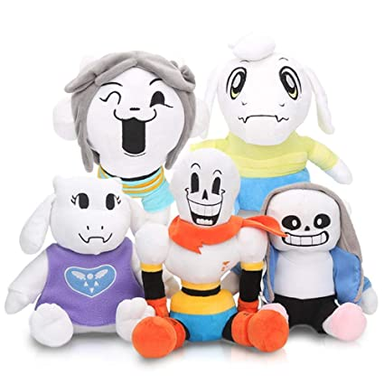 LevinArt 2pcs 30cm Anime Undertale Plush Toys Undertale Sans Papyrus Asriel  Toriel Stuffed Plush Toys Doll for Kids Children Gift