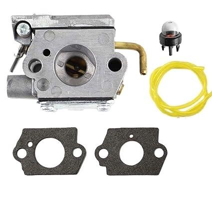 Amazon.com: Janrui WT-827 - Carburador para máquinas MTD ...