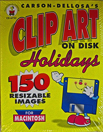 Carson-Dellosa's Clip Art On Disk, Holidays, No. CD-6752 for Macintosh
