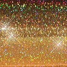 """Hair Flairs Pro Hair Tinsel - 100 Strands, 36"""", Sparkle Gold"""