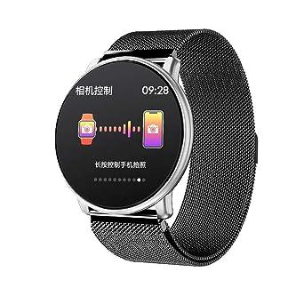 LEMFO LT03 Smart Watch - Reloj inteligente de cristal ...