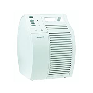 Honeywell<sup>®</sup> Long-Life Pure HEPA QuietCare Air Purifier width=
