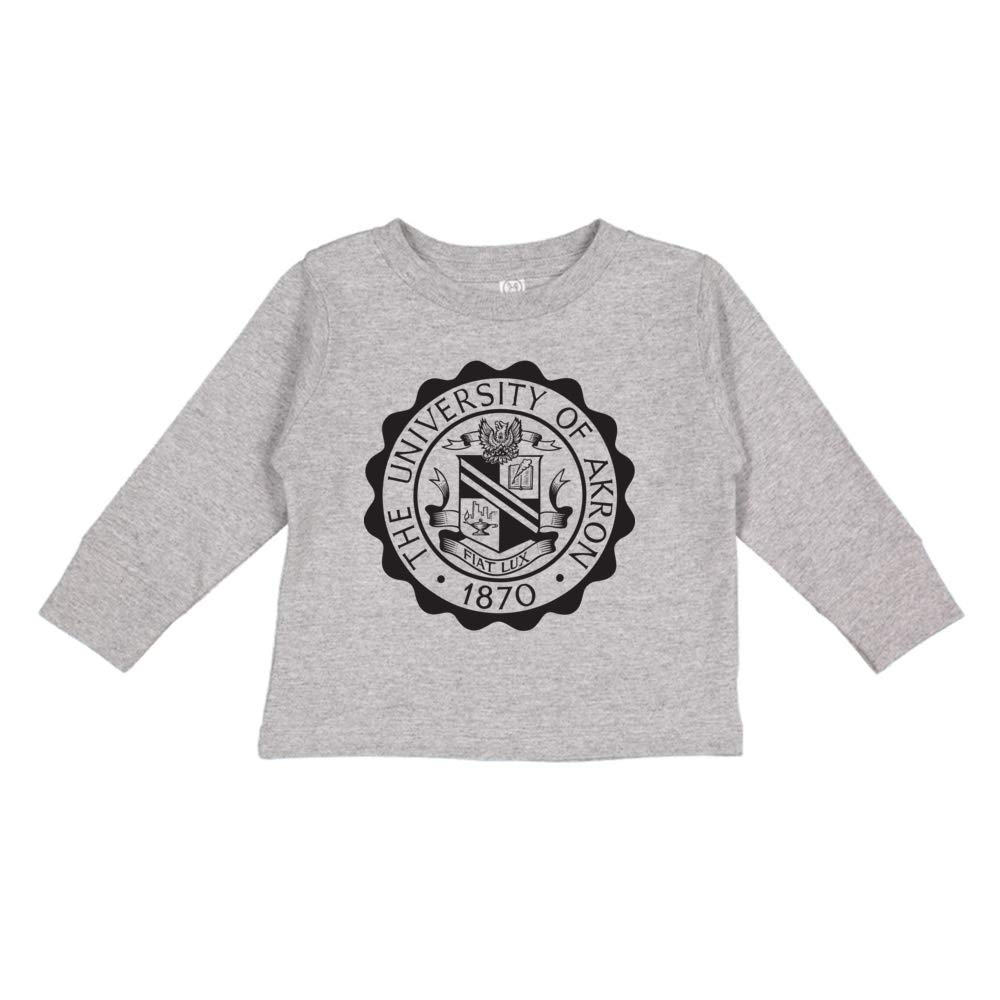 NCAA Akron Zips PPTUA042 Toddler Long-Sleeve T-Shirt