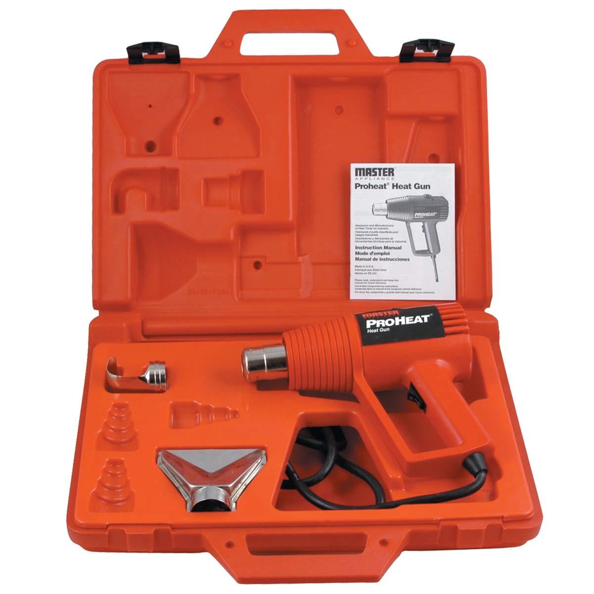 Master Appliance MASPH1100K 1 Pack Gun pro Heat w/2 attachments & case by Master Appliance (Image #1)
