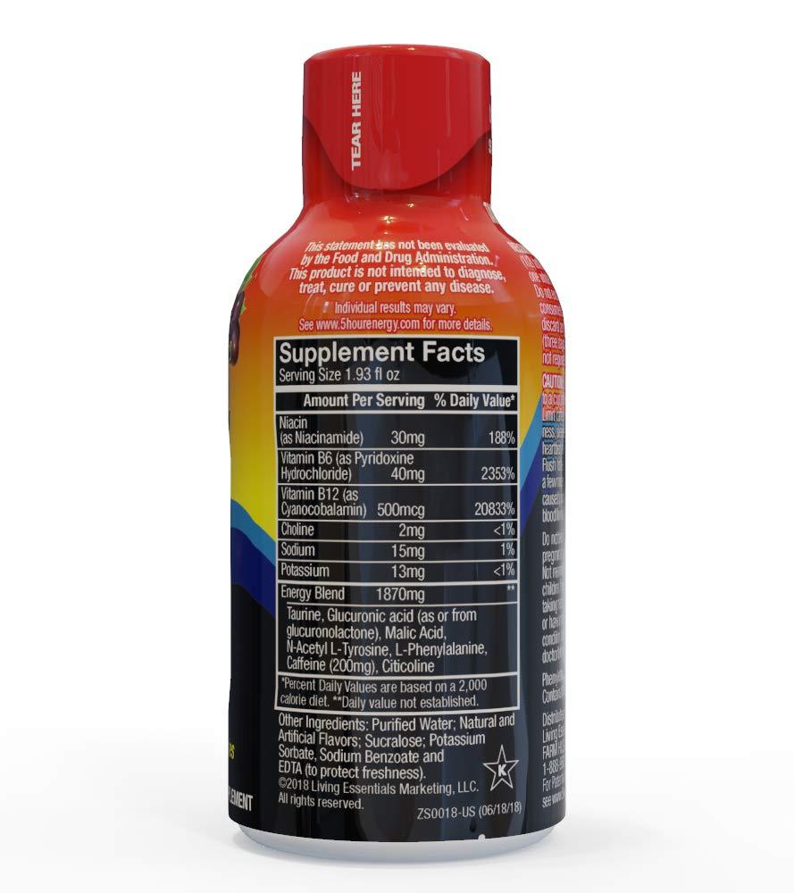 5-Hour ENERGY Shot, Regular Strength Grape, 1.93 Ounce, 24 Count by 5-Hour ENERGY (Image #7)