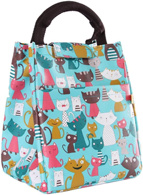 Oneyongs borsa termica per il pranzo per ragazze e bambini Tipo B.