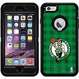 Celtics diseños sobre negro OtterBox Defender Series–Funda para iPhone 6Plus y iPhone 6s Plus