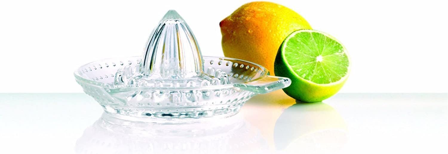 Traditional Glass Lemon Lime Squeezer