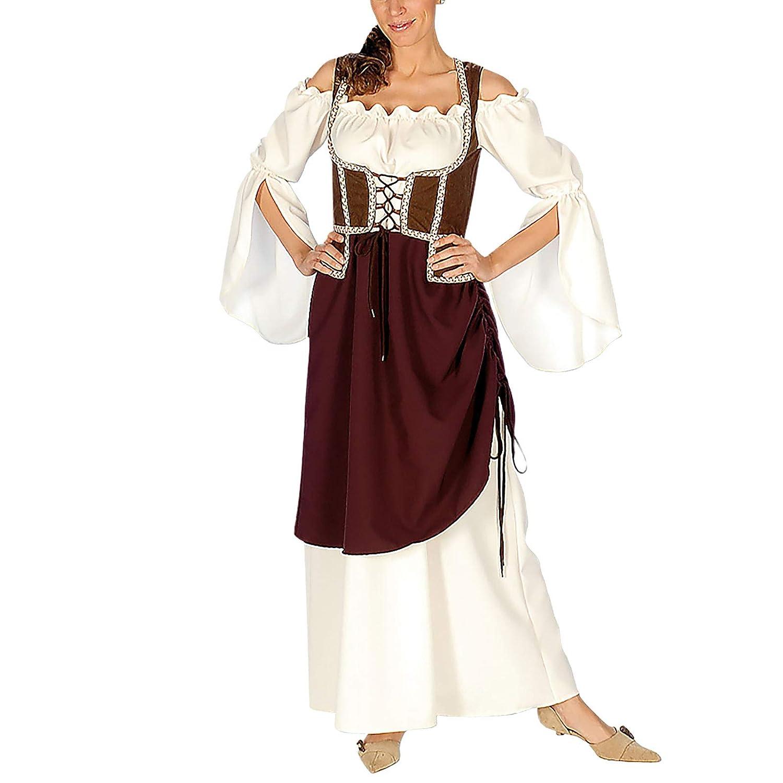 Elbenwald Maid Mujer casera Mercado de Las Damas Traje Medieval ...