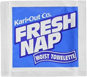 Perfectware - PW MOIST NAPS 200CT Moist Wet Naps, Slight Lemon Scent 200ct