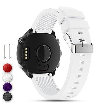 Feskio - Correa de Repuesto para Reloj Garmin Vivoactive 3/GarminForerunner 645 Music/GarminVivomove HR Smartwatch