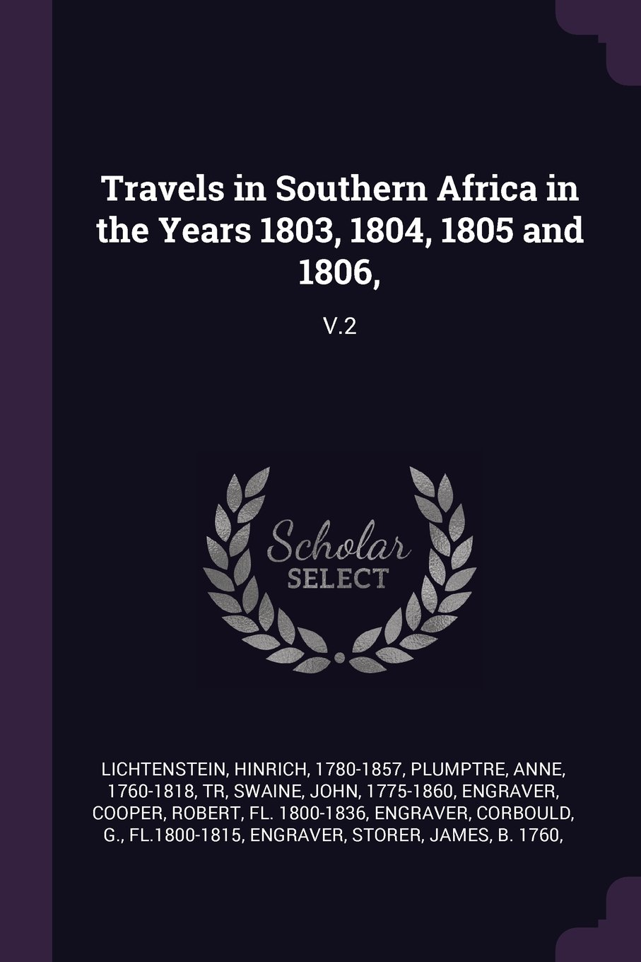 Download Travels in Southern Africa in the Years 1803, 1804, 1805 and 1806,: V.2 PDF