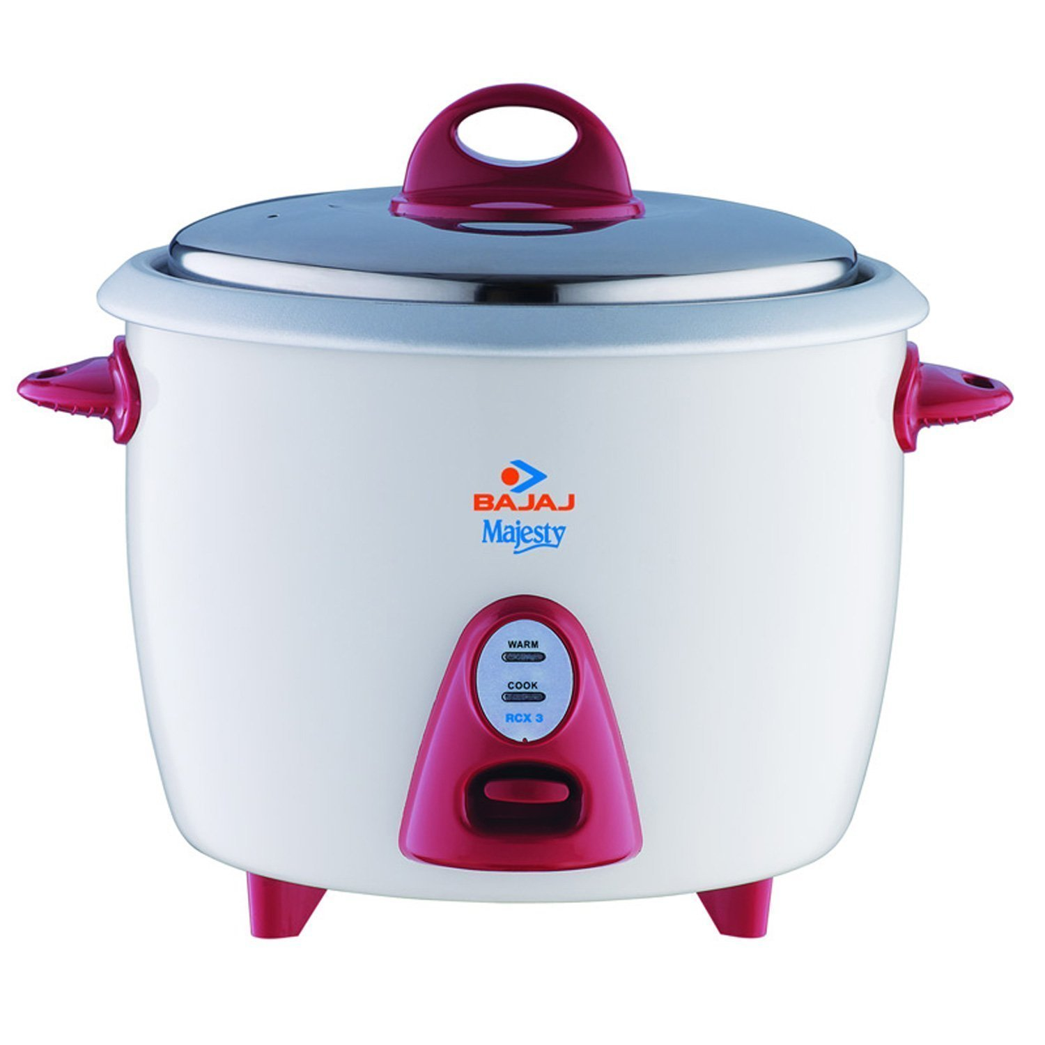 Bajaj Majesty New RCX 3 350-Watt Multifunction Rice Cooker
