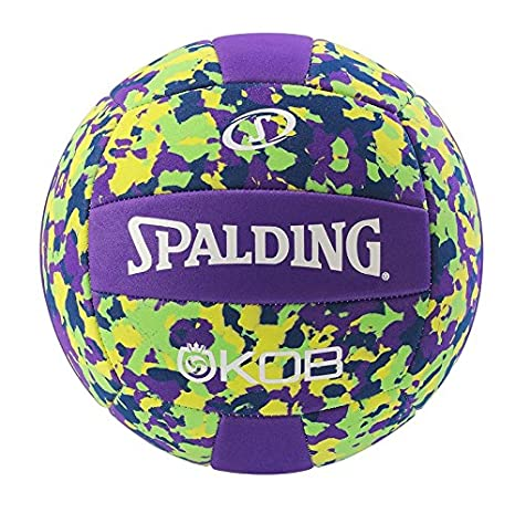 Spalding Beachvolleyball KOB Ball Volleyball blau/Gelb 5 SPAPO|#Spalding 3001598031302