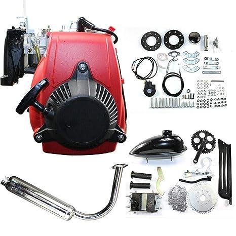 Amazon.com: Kit de motor de 49 cc de gasolina de 4 tiempos ...
