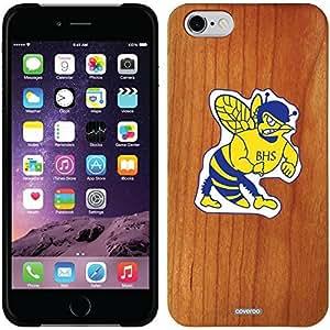fashion case iphone 6 4.7 Madera Wood Thinshield Case with Beauregard High School Design